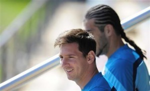 Messi señaló que la pasada fue una gran temporada para la escuadra blaugrana. Foto: AP