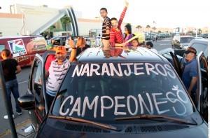 El Valle del Sol estará de fiesta cuando reciba a los Naranjeros de Hermosillo, campeón de la LMP. Foto: Agencia Reforma