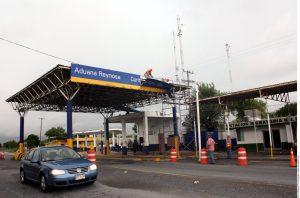 El cierre de las garitas estaba programado a lo largo de la frontera con México. Foto: Agencia Reforma