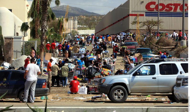 Saqueos e inseguridad en Los Cabos  tras huracán