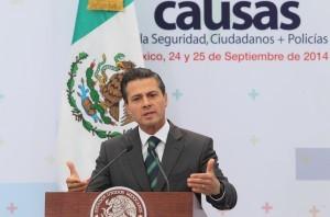 Enrique Peña Nieto anunció la incorporación de México a operaciones de la ONU el pasado 24 de septiembre. Foto: Notimex