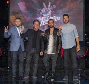 Poncho Lizárraga, Ricardo Montaner, Mario Domm y Alex Ubago se integran al elenco del reality. Foto: Suministrada