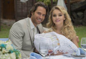 """En 2010 los actores habían protagonizado la novela """"Teresa"""", pero ambos tenían pareja. Foto: Suministrada"""