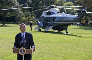 Habiendo recibido el apoyo de naciones árabes, Obama busca atraer a otros socios, entre ellos Turquía. Foto: AP