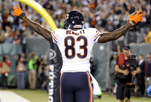 Bears aprovechan errores y vencen a Jets