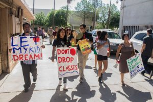 Cada vez se registra un mayor apoyo a la causa de los Dreamers en Arizona. Foto: Julián Lozano/Mixed Voces
