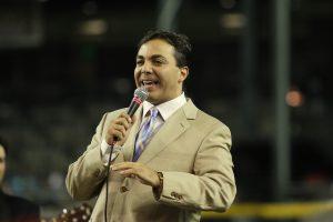 """Cristian Sáenz Castro nació el 8 de diciembre de 1974 en la Ciudad de México; es hijo de la cantante y actriz Verónica Castro, así como del actor y comediante Manuel """"El Loco"""" Valdés. Foto: Phil Soto"""