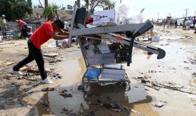 Declaran a Baja California Sur en emergencia extraordinaria por Odile