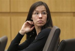 Arias dijo que mató a su novio en defensa propia. Foto: AP