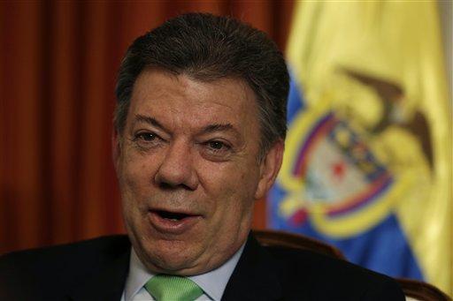 Santos: Colombia más cerca que nunca de la paz