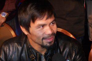 Manny Pacquio defenderá su corona welter ante el estadounidense Chris Algieri. Foto: Notimex