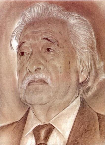 Retrato de Luis Nishizawa por David Carrillo