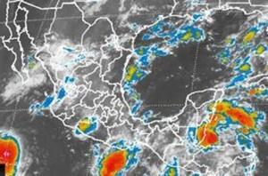 Para las próximas horas, se prevén lluvias fuertes en gran parte del país. Foto: Cortesía de Conagua