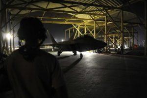 Los bombardeos contra objetivos del Estado Islámico en Siria iniciaron la semana pasada. Foto: AP
