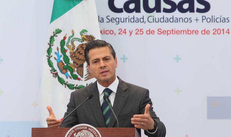 Peña Nieto anuncia revisión de Ley General de Víctimas
