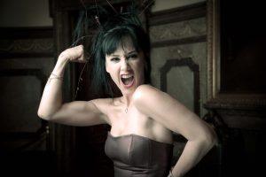 La actriz  festejó con los seguidores que la esperaron ansiosos en el Lunario del Auditorio Nacional. Foto: Suministrada