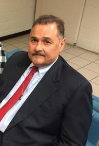 Armando Ruiz momentos antes de declarar en el interior de la cárcel de la Avenida 4, en Phoenix. JPG