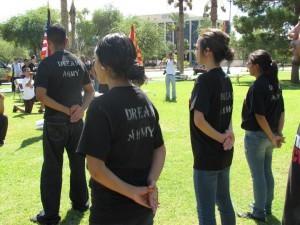 Muchos DREAMers aspiran a servir a su país formando parte de las fuerzas armadas. Foto: Cortesía Dulce Matuz