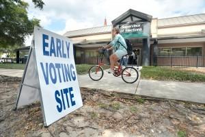 El voto anticipado es una de las opciones para participar en el proceso electoral. Foto: AP