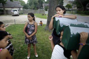 La mayoría de los niños migrantes que llegan a EU provienen de Honduras, El Salvador y Guatemala. Foto: AP