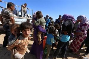 En octubre pasado al menos murieron 90 niños y uno de cada cinco de ellos era menor de 2 años de edad, la mayoría de ellos proveniente de Siria, Afganistán e Irak. Foto: AP