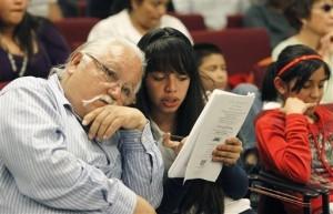 Salvador Reza, activista pro inmigrante y dirigente de Tonatierra. Foto: AP