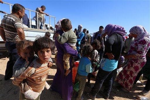 UE destinará 494 mdd en ayuda a crisis humanitaria por guerra en Siria