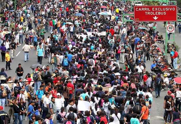 Unos cuatro mil policías vigilarán la marcha de Tlatelolco
