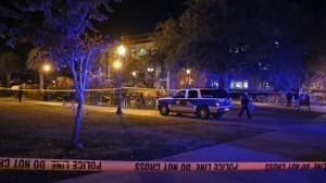 El atacante fue abatido por la policía luego de abrir fuego en la biblioteca Strozier de la universidad. Foto: AP