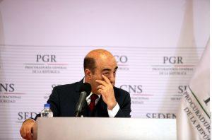Jesús Murillo Karam, procurador general de la República. Foto: Agencia Reforma