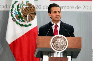 """Enrique Peña Nieto calificó el anuncio de la Acción Ejecutiva como """"un acto de justicia que valora las aportaciones de millones de mexicanos"""" al desarrollo de Estados Unidos. Foto: Agencia Reforma"""