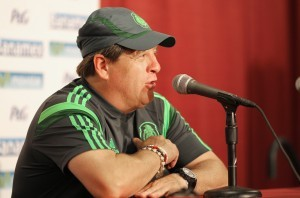 Miguel Herrera, técnico de la Selección de México. Foto: Notimex