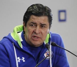 Luis Fernando Tena, técnico de Cruz Azul. Foto: Notimex.
