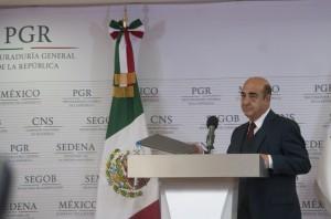 Jesús Murillo Karam, procurador general de México. Foto: Notimex