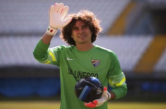 Guillermo Ochoa realiza entrenamiento con Málaga
