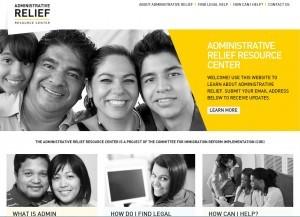 La página Administrative Relief Resource Center servirá de apoyo a quienes busquen beneficiarse del alivio migratorio que será anunciado el jueves. Foto: Mixed Voces