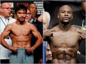 """""""Los espectadores merecen esa pelea. Es momento de realizar esa pelea"""", dijo Pacquiao sobre un posible enfrentamiento con Mayweather Jr. Foto: AP"""