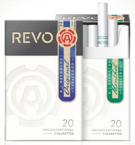 Imagen de los nuevos cigarrillos Revo de Reynolds American. Foto: AP