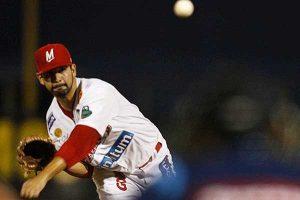 Amilcar Gaxiola hizo historia al lanzarle un no-hitter a los Naranjeros en la LMP. Foto: Cortesía LMP