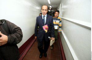 René Bejarano, secretario de Acción Política y Estrategia de la dirigencia nacional del PRD. Foto: Agencia Reforma