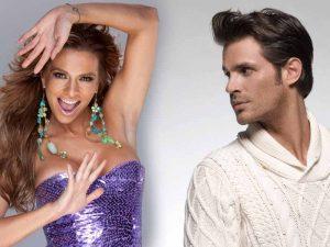 Iniciaron su noviazgo en 2011, luego de que Mark se divorciara de la conductora colombiana Mónica Fonseca y Cecilia de Sebastian Rulli. Foto: Mixed Voces