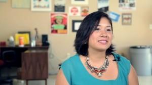 Dulce Matuz, de 30 años y originaria de Sonora, está por concluir su proceso de naturalización en EU. Foto: Mixed Voces