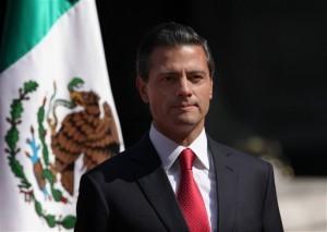 La casa privada del presidente mexicano fue construida y está registrada a nombre de una compañía que ganó la licitación de un tren de alta velocidad. Foto: AP