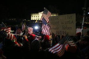 En todo el país hubo diferentes reacciones acerca del anuncio de Barack Obama. Foto: AP