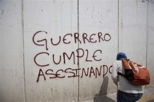 """hechos en que se han registrado muertos y desaparecidos y afirmó que """"la regla en México es la impunidad"""""""