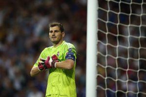 """Iker Casillas afirmó que """"el compromiso que tenemos los jugadores que estamos aquí es máximo"""". Foto: AP"""