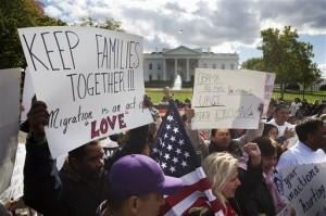 La comunidad esperaba desde hace tiempo la acción ejecutiva del presidente Obama. Foto: AP