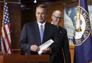 El presidente de la Cámara de Representantes, John Boehner, acusó a Obama de socavar la presidencia al aprobar reformas migratorias por decreto. Foto: AP