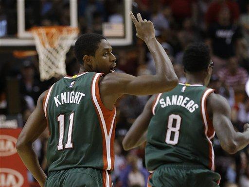 El Heat vuelve a caer, ahora ante Bucks