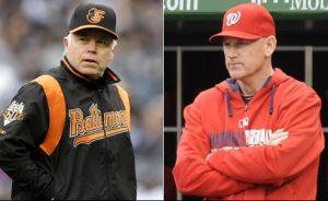 Buck Showalter y Matt Williams. Foto: AP